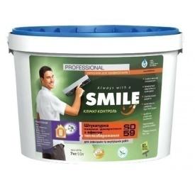 Штукатурка теплоизоляционная SMILE SD-59 2,1 кг