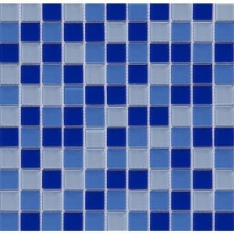Мозаїка скляна VIVACER MixC03 300x300 мм