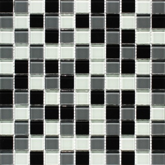 Мозаїка скляна VIVACER MixC010 300x300 мм