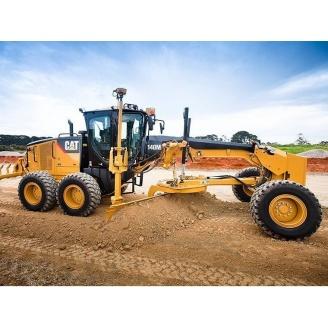 Аренда грейдера Caterpillar 140M для строительства дорог