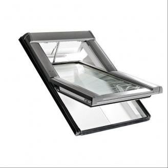 Мансардное окно Roto Designo R45 K WD RotoTronic E 114х118 см