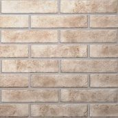 Плитка Golden Tile BrickStyle Baker street 60х250 мм светло-бежевый