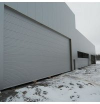 Ангарные ворота Ryterna RIB 15000x6000 мм RAL 9006