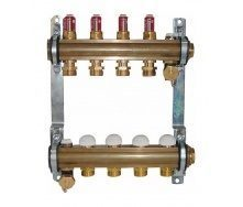 Комплект штанговых распределителей HERZ с расходомерами 2,5 л/мин 6 отводов DN 25 1 дюйм (1853206)