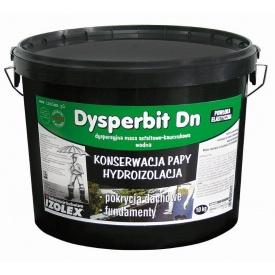 Мастика бітумно-каучукова Dysperbit DN Izohan 10 кг