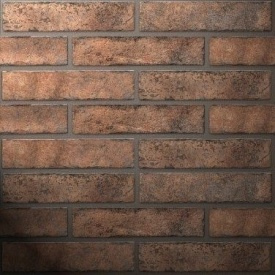 Плитка керамическая Golden Tile BrickStyle Westminster 60х250 мм оранжевый