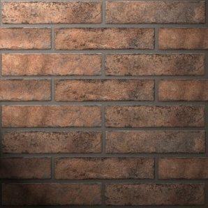 Плитка керамічна Golden Tile BrickStyle Westminster 60х250 мм помаранчевий