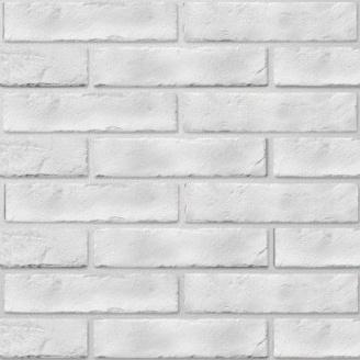 Керамічна плитка Golden Tile BrickStyle The Strand 60х250 мм білий (080020)