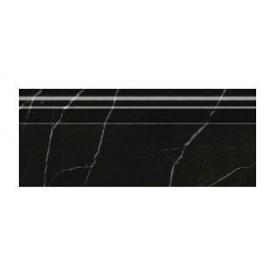 Плінтус Golden Tile Absolute Modern 300х120 мм чорний (Г2С381)