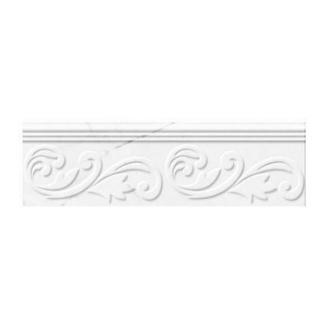 Фриз Golden Tile Absolute Modern 300х90 мм білий (Г20361)