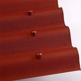 Лист покрівельний Onduline 3х950х2000 мм червоний