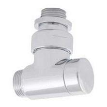 Клапан отключения радиатора HERZ RL-Design угловой хромированный (S373441)