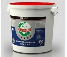 Шпаклівка фінішна акрилова Anserglob 17 кг