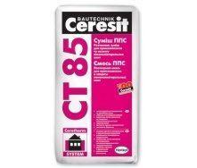 Клей для пенопласта Ceresit CT-85 25 кг