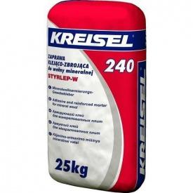 Клей універсальний для мінеральної вати Kreisel 240 25 кг