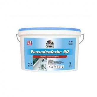 Краска фасадная Dufa Fasad F-90 10 л белая