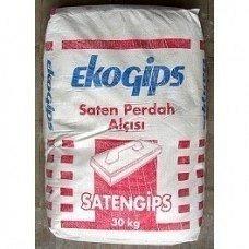 Фінішна шпаклювальна гіпсова суміш SatenGips ЕКО 30 кг