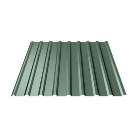 Профнастил Ruukki T20 Purex/Crown BT 17,5 мм темно-зелений