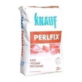 Клей Knauf Перлфікс гіпсовий 30 кг
