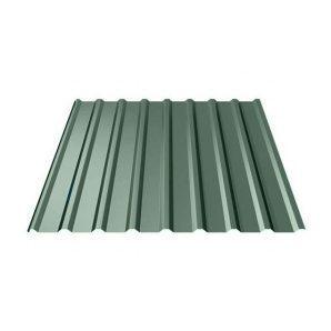 Профнастил Ruukki Т20 Polyester 17,5 мм темно-зеленый