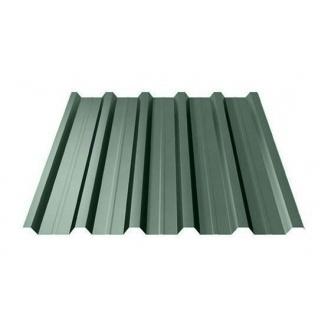 Профнастил Ruukki Т35 Polyester 31 мм темно-зелений