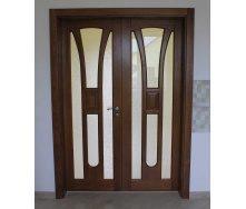 Міжкімнатні двері коричневі