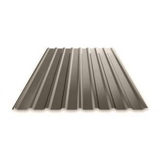 Профнастил Ruukki Т15 Polyester фасадный 13,5 мм темно-серый