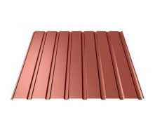 Профнастил Ruukki Т15-115 Pural Matt фасадний 13,5 мм червоний