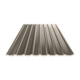 Профнастил Ruukki Т15 Purex фасадный 13,5 мм темно-серый