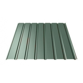 Профнастил Ruukki Т15-115 Pural Matt фасадний 13,5 мм темно-зелений