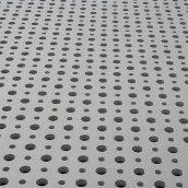 Гіпсокартон Knauf Cleaneo Akustik 12/20/66R FF 12,5х1188х1980 мм білий