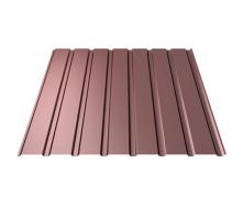 Профнастил Ruukki Т15-115 Polyester стеновой 13 мм шоколадный