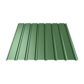 Профнастил Ruukki Т15-115 Polyester фасадный 13,5 мм зеленый