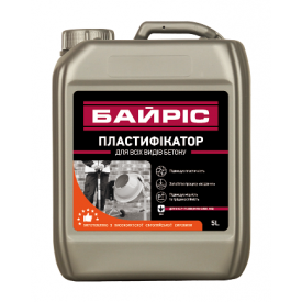 Пластификатор Байрис для всех видов бетона 10 л