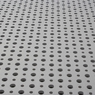 Гипсокартон Knauf Cleaneo Akustik 8/12/50R 4SK 12,5х1200х2000 мм белый