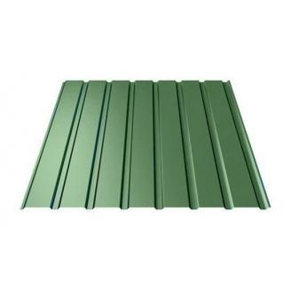 Профнастил Ruukki Т15-115 Polyester стеновой 13 мм зеленый
