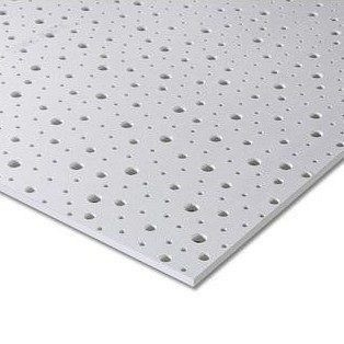 Гипсокартон Knauf Cleaneo Akustik PLUS 12/20/35R FF 12,5х1200х1875 мм черный