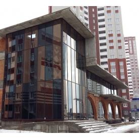 Алюмінієве скління фасаду