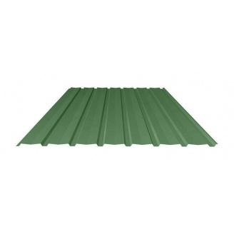 Профнастил Ruukki Т15-115V Polyester фасадный 13,5 мм зеленый