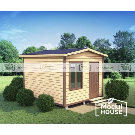 Дачный дом Смерека-1 3500x4000 мм