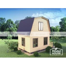 Дачный дом Смерека-10 3500х4000 мм
