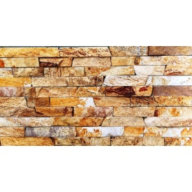 Природний камінь Соломка Ліпарит 3х1 см жовта