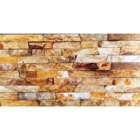Природний камень Соломка Липарит 3х1 см желтая