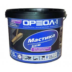 Мастика битумно-эмульсионная Ореол-1 БиЭм 10 кг