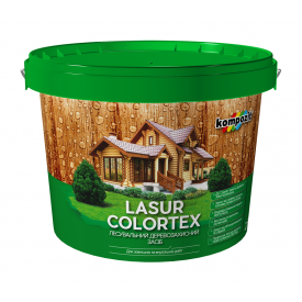 Лазурь Kompozit COLORTEX 2,5 л белый
