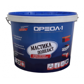 Мастика полимерная Ореол-1 Полиэласт высокоэластичная 10 кг