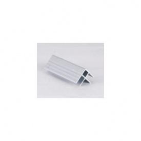 Профиль угловой усиленный алюминиевый 0,4 мм 3 м