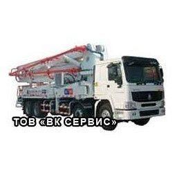 Аренда автобетононасоса Hongda HDT42/4