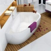 Ванна акрилова RAVAK LoveStory II асиметрична 196х139 см права