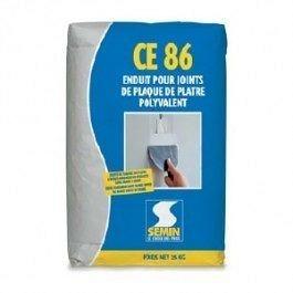 Шпаклевка трещиностойкая Semin CE-86 25 кг белая